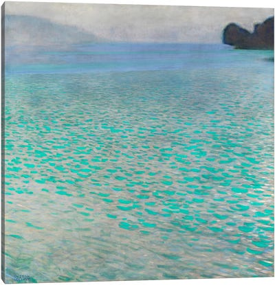 Attersee (Lake Attersee) by Gustav Klimt Canvas Art Print