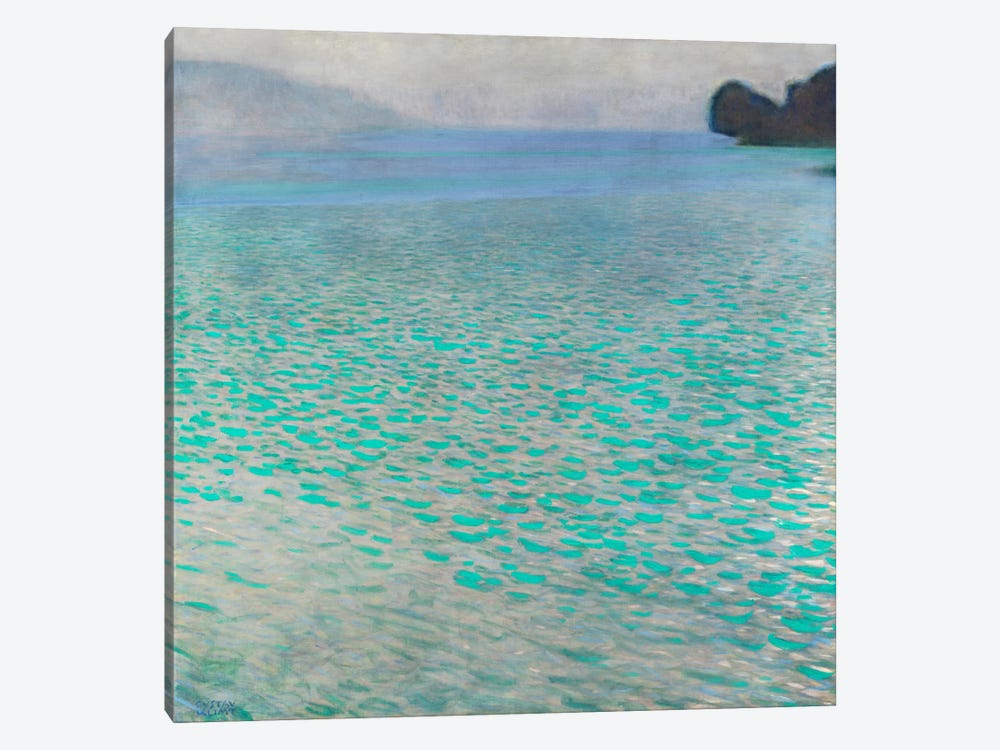 Attersee (Lake Attersee) by Gustav Klimt 1-piece Canvas Art
