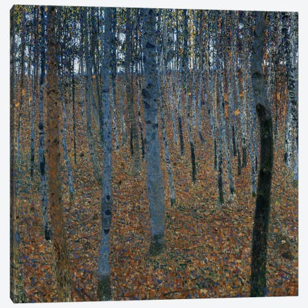 Buchenwald 1 (Beech Grove 1) Canvas Print #14018} by Gustav Klimt Canvas Art