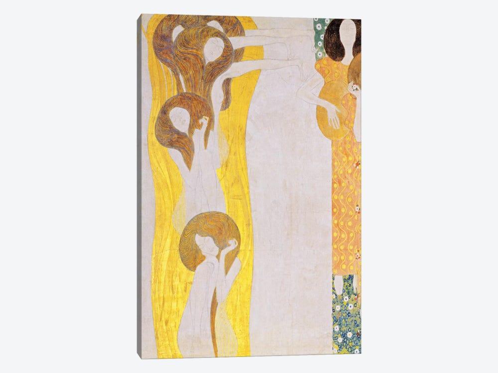 Die Künste by Gustav Klimt 1-piece Art Print