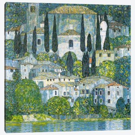 Kirche in Cassone (Church in Cassone) Canvas Print #14034} by Gustav Klimt Canvas Art Print