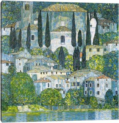 Kirche in Cassone (Church in Cassone) Canvas Art Print