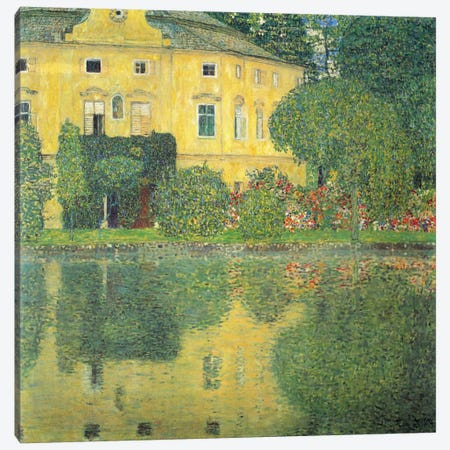 Schloss Kammer on the Attersee IV (Schloss Kammer on Lake Attersee IV) Canvas Print #14042} by Gustav Klimt Canvas Print
