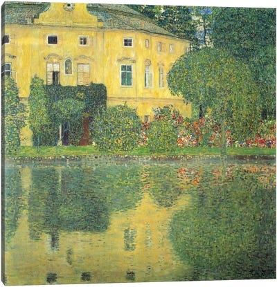Schloss Kammer on the Attersee IV (Schloss Kammer on Lake Attersee IV) by Gustav Klimt Canvas Art Print