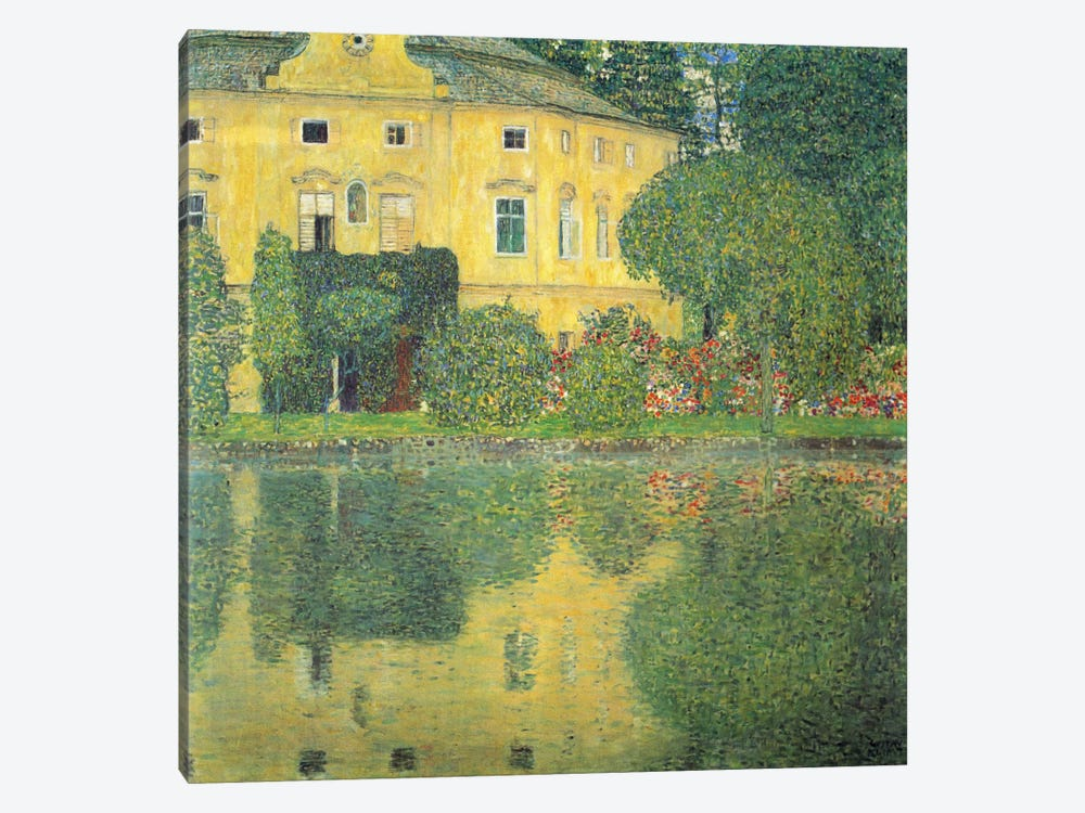 Schloss Kammer on the Attersee IV (Schloss Kammer on Lake Attersee IV) by Gustav Klimt 1-piece Canvas Wall Art