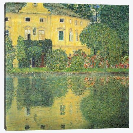 Schloss Kammer am Attersee IV Canvas Print #14042} by Gustav Klimt Canvas Print