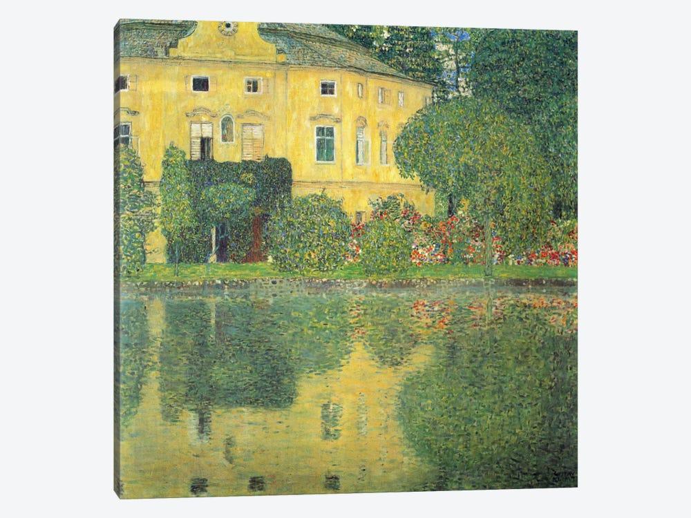 Schloss Kammer am Attersee IV by Gustav Klimt 1-piece Canvas Wall Art