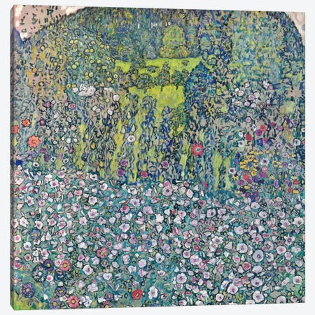 Gustav Klimt Garden Landscape on the Hill Canvas Print #14043} by Gustav Klimt Art Print