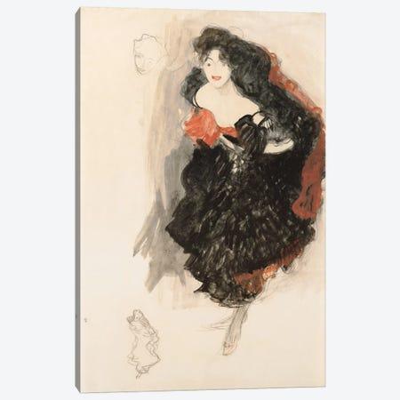 Study for Judith ll Canvas Print #14049} by Gustav Klimt Canvas Art Print