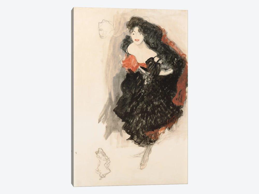 Study for Judith ll by Gustav Klimt 1-piece Art Print
