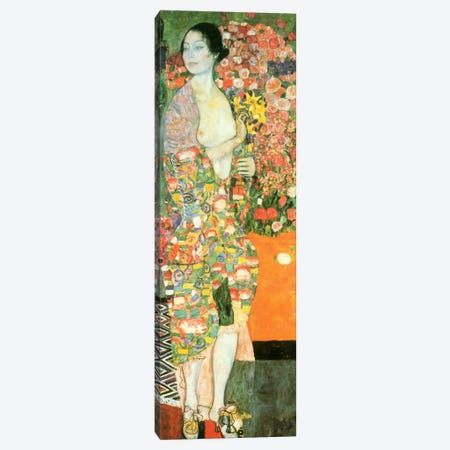 The Dancer Canvas Print #14050} by Gustav Klimt Canvas Art