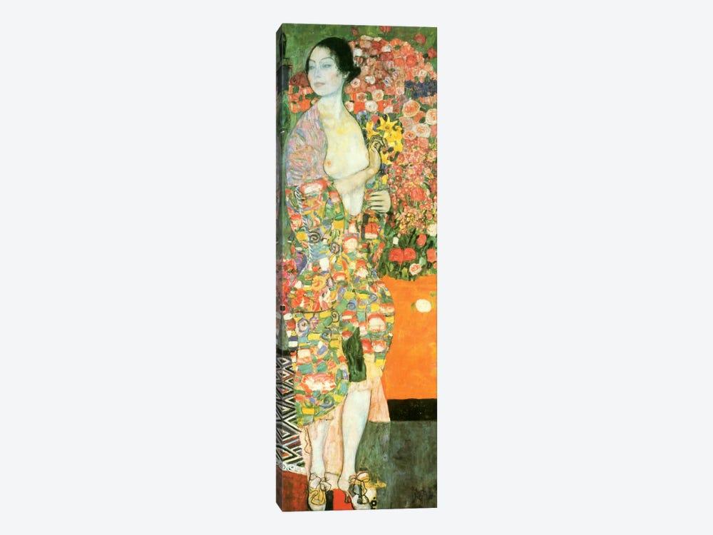 The Dancer by Gustav Klimt 1-piece Canvas Print