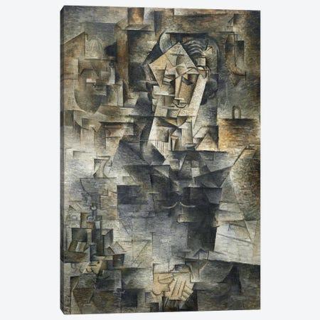 Portrait of Daniel-Henry Kahnweiler Canvas Print #14094} by Pablo Picasso Canvas Art Print