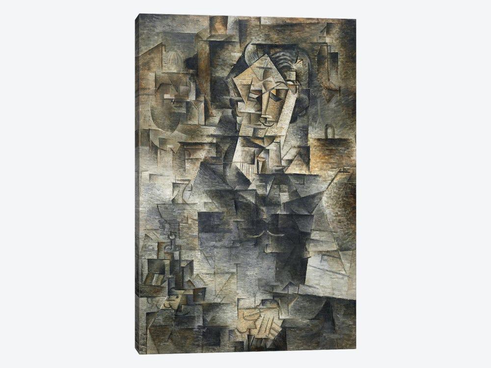 Portrait of Daniel-Henry Kahnweiler by Pablo Picasso 1-piece Canvas Art Print