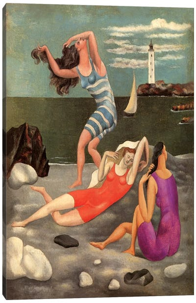 The Bathers Canvas Art Print