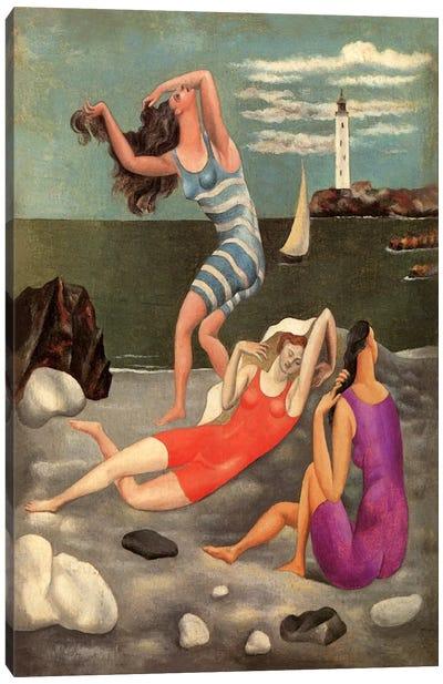 The Bathers Canvas Art Print