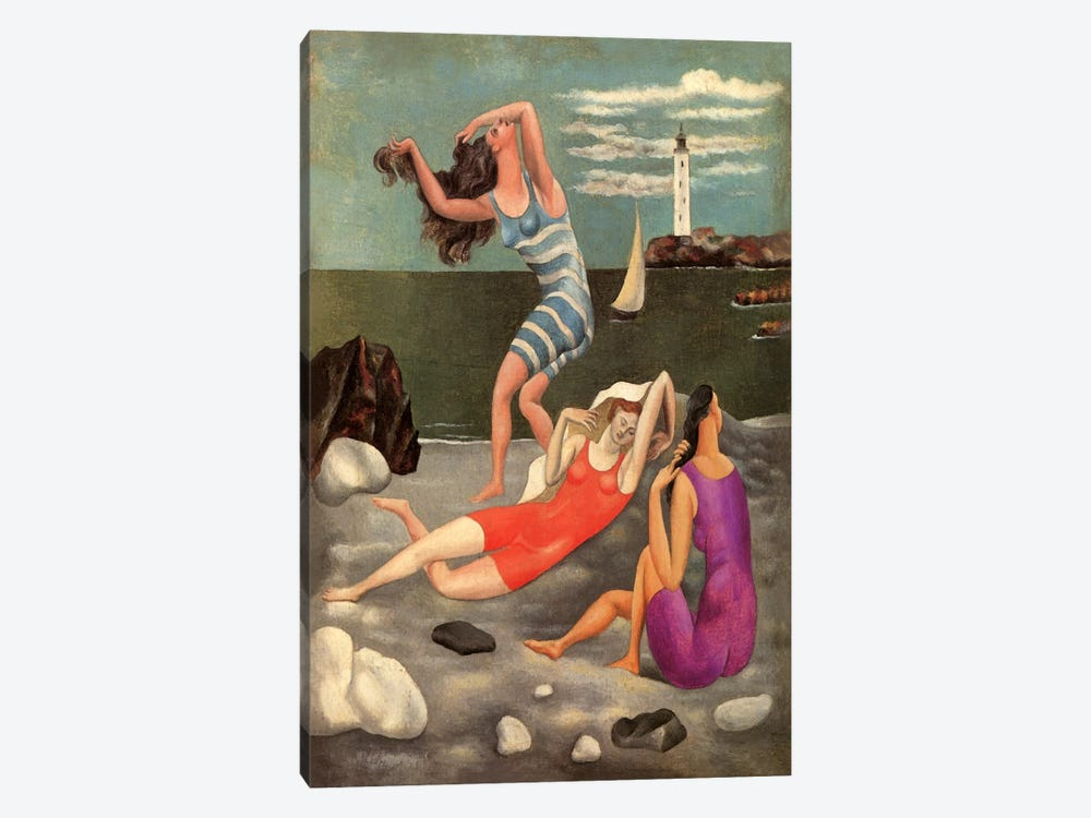 The Bathers by Pablo Picasso 1-piece Canvas Artwork
