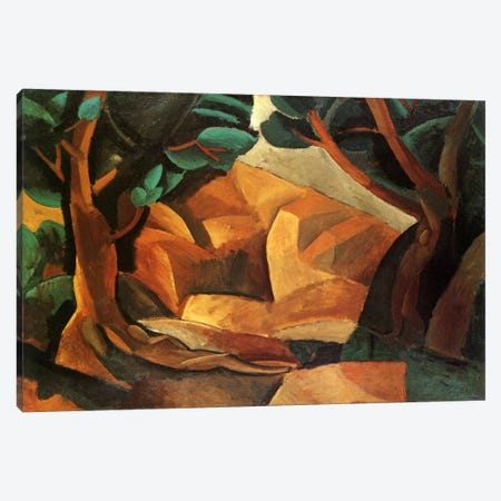 Landscape with Two Figures Canvas Print #14103} by Pablo Picasso Canvas Art