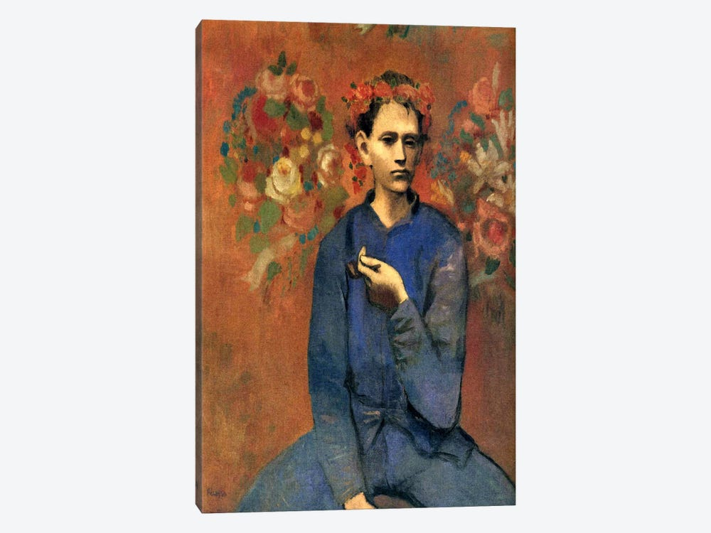 A Boy with Pipe 1-piece Art Print