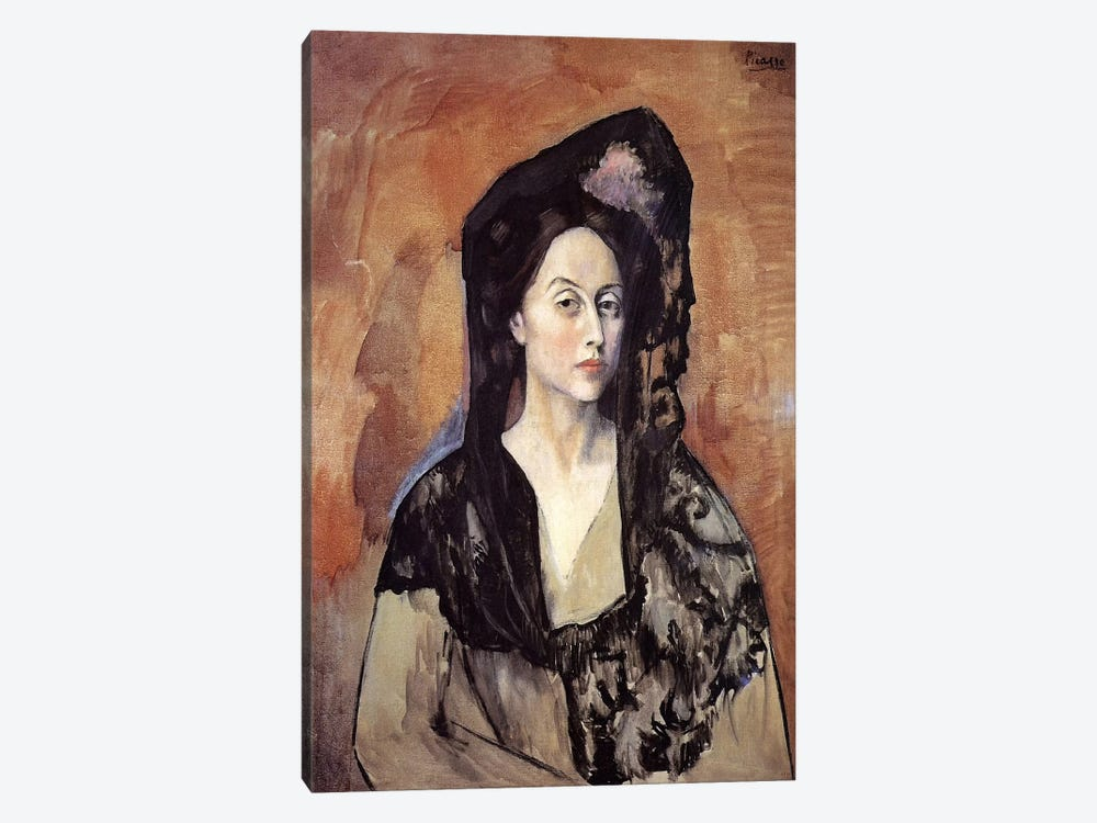 Portrait of Madame Canals by Pablo Picasso 1-piece Canvas Wall Art