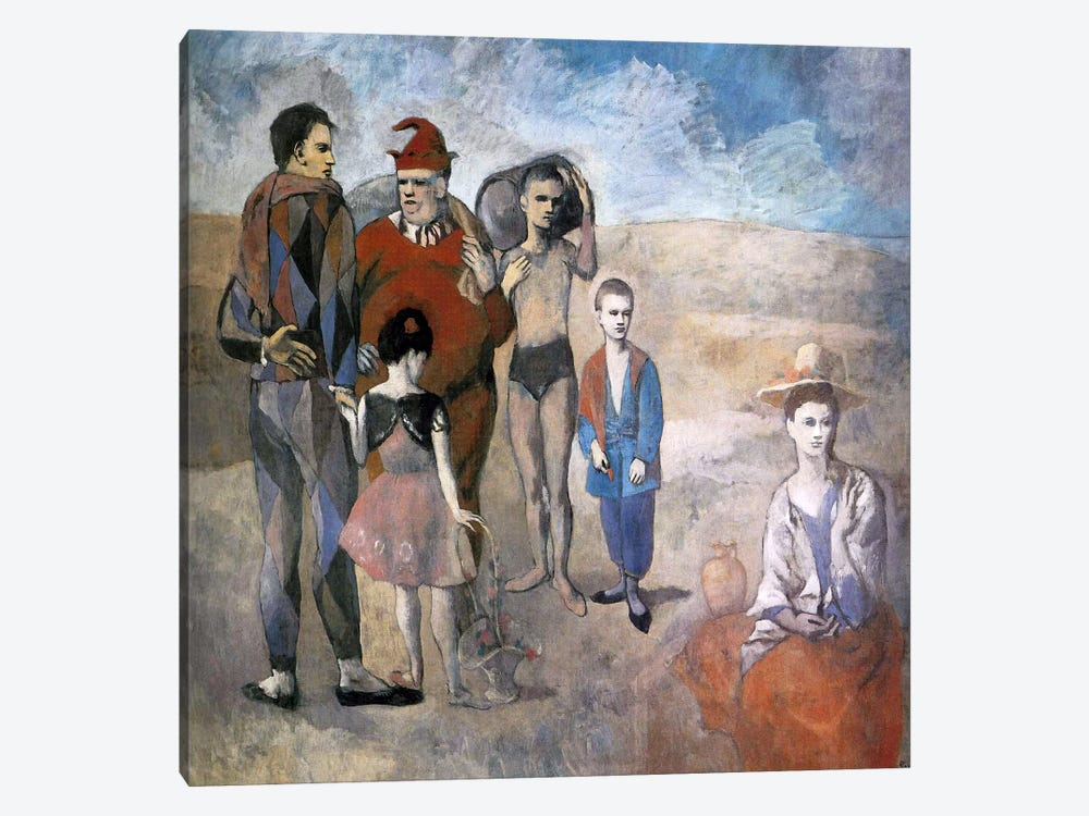 Family of Saltimbanques by Pablo Picasso 1-piece Art Print
