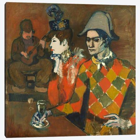 Au Lapin Agile Canvas Print #14109} by Pablo Picasso Canvas Artwork