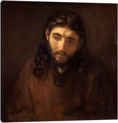 Head of Christ by Rembrandt van Rijn Art Print