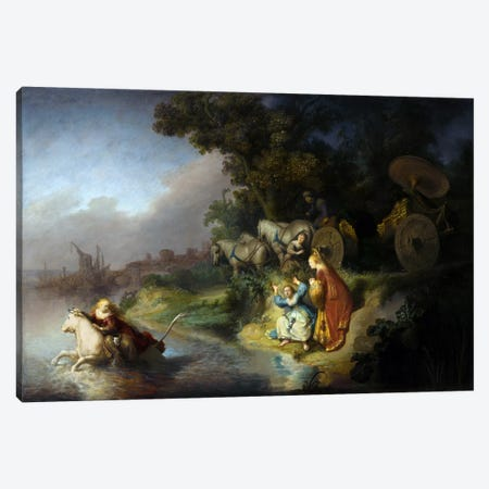 The Abduction of Europa Canvas Print #14135} by Rembrandt van Rijn Canvas Artwork