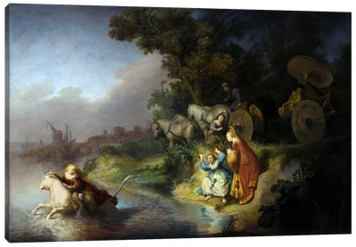 The Abduction of Europa Canvas Art Print