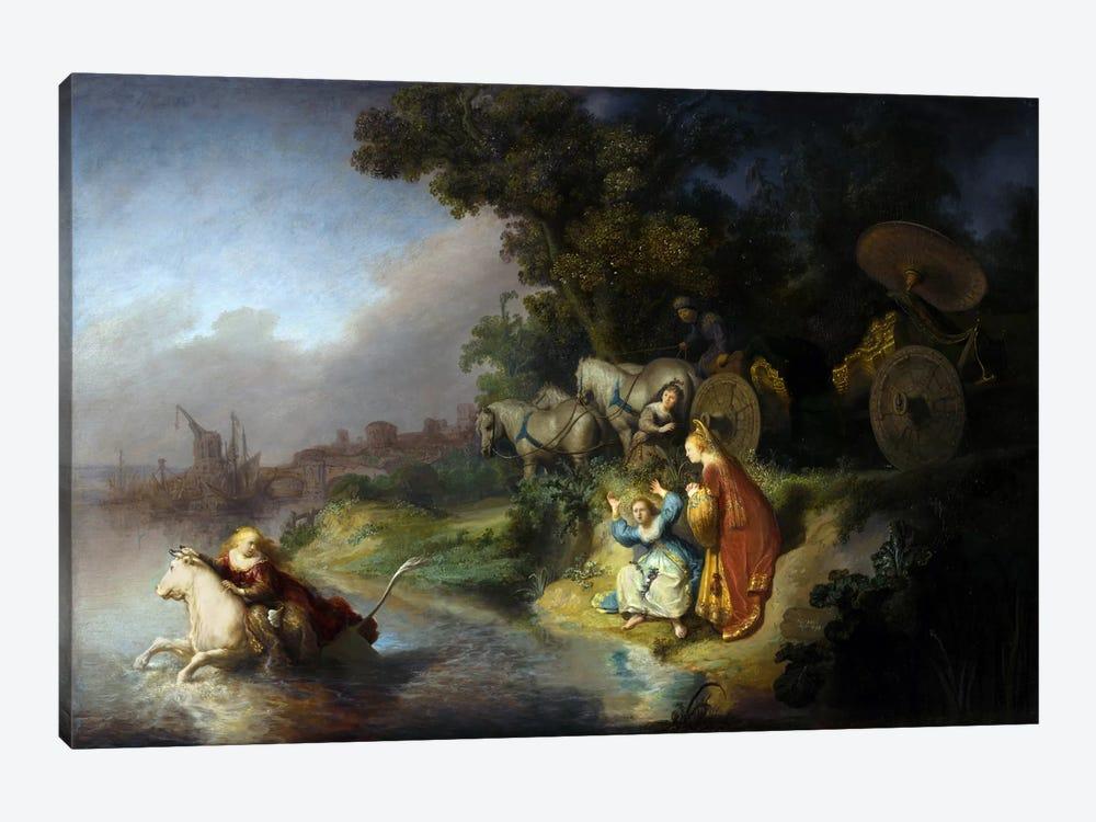 The Abduction of Europa by Rembrandt van Rijn 1-piece Canvas Art Print