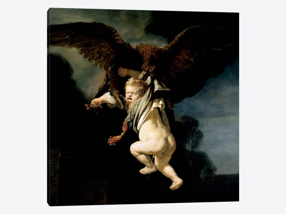 The Abduction of Ganymede 1-piece Canvas Artwork