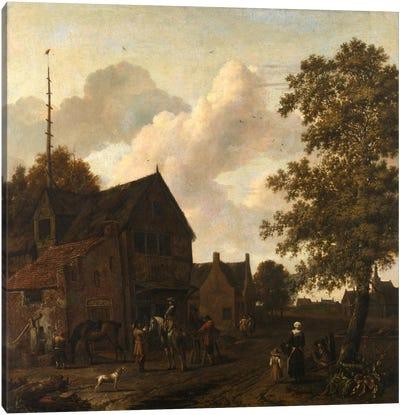 The Halting Place Canvas Art Print