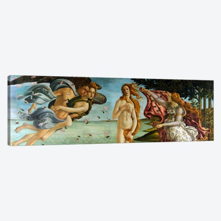 Birth of Venus Canvas Print #1413PAN} by Sandro Botticelli Canvas Art