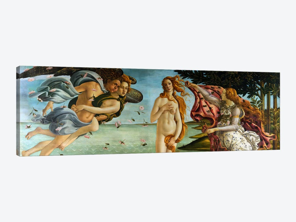 Birth of Venus by Sandro Botticelli 1-piece Canvas Wall Art