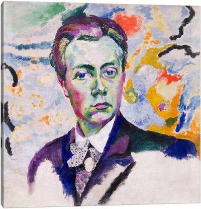 Autoportrait Canvas Art Print