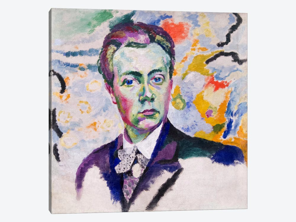 Autoportrait by Robert Delaunay 1-piece Art Print