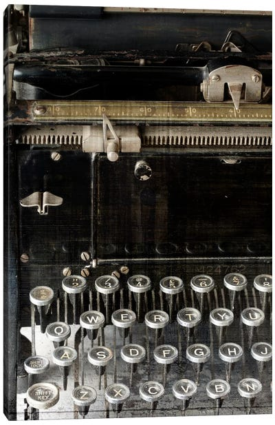 Vintage Typewriter Canvas Print #14156