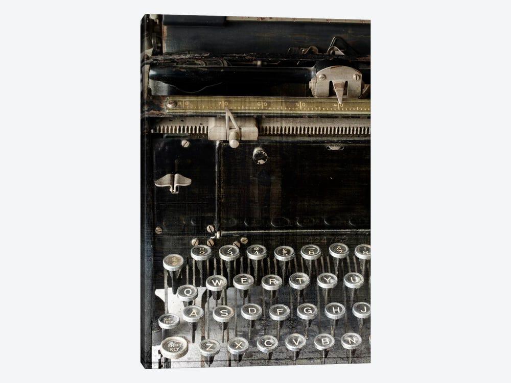 Vintage Typewriter by Symposium Design 1-piece Canvas Wall Art