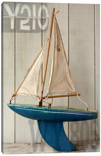 Sailboat I Canvas Art Print