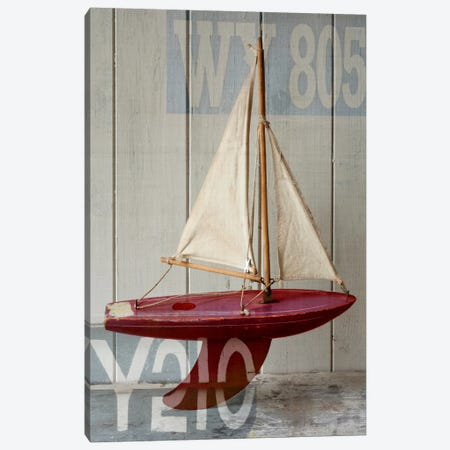 Sailboat II Canvas Print #14161} by Symposium Design Canvas Wall Art