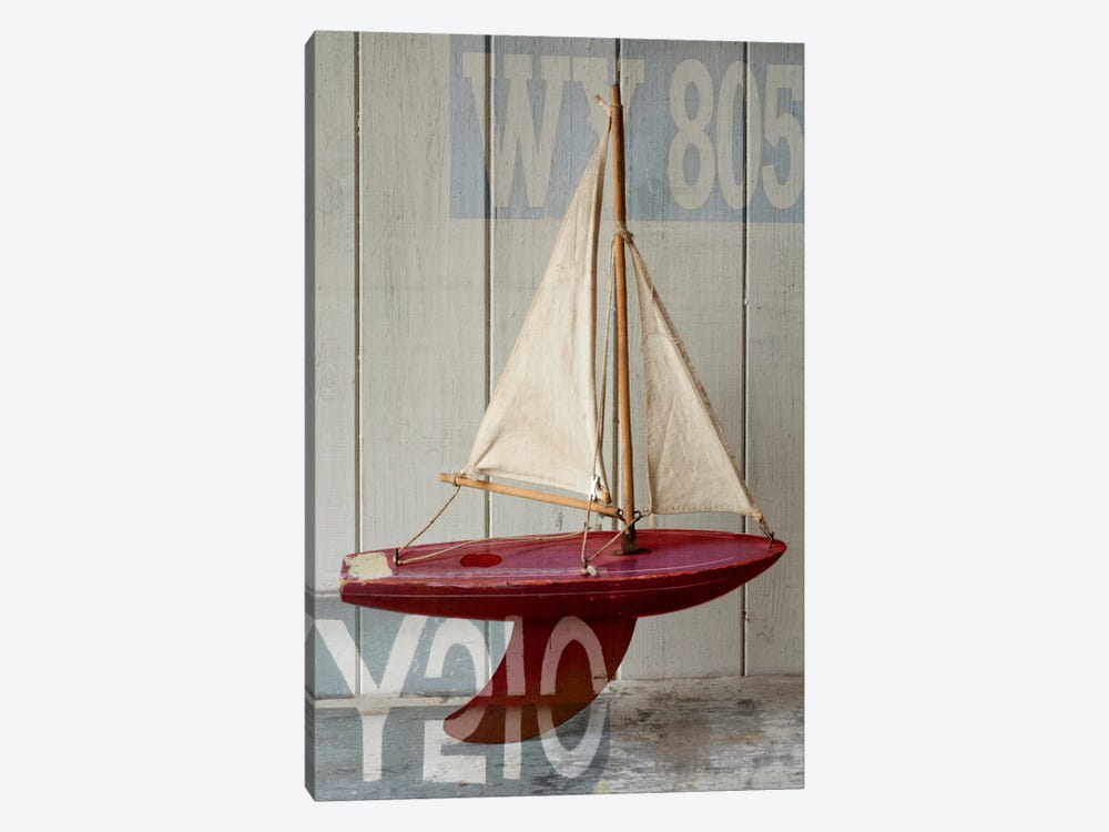 Sailboat II 1-piece Canvas Wall Art