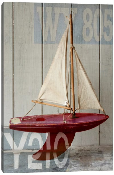 Sailboat II Canvas Art Print