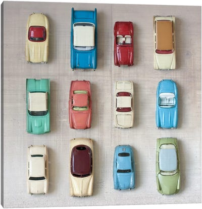 Toy Cars Canvas Art Print