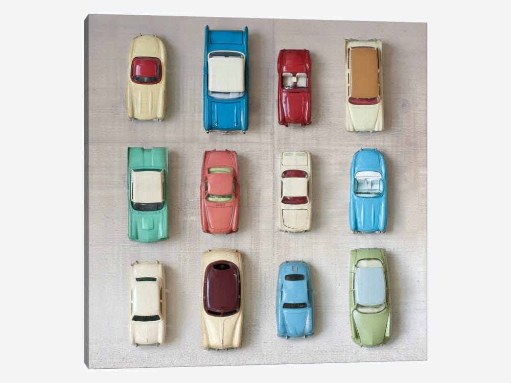 Toy Cars by Symposium Design 1-piece Art Print