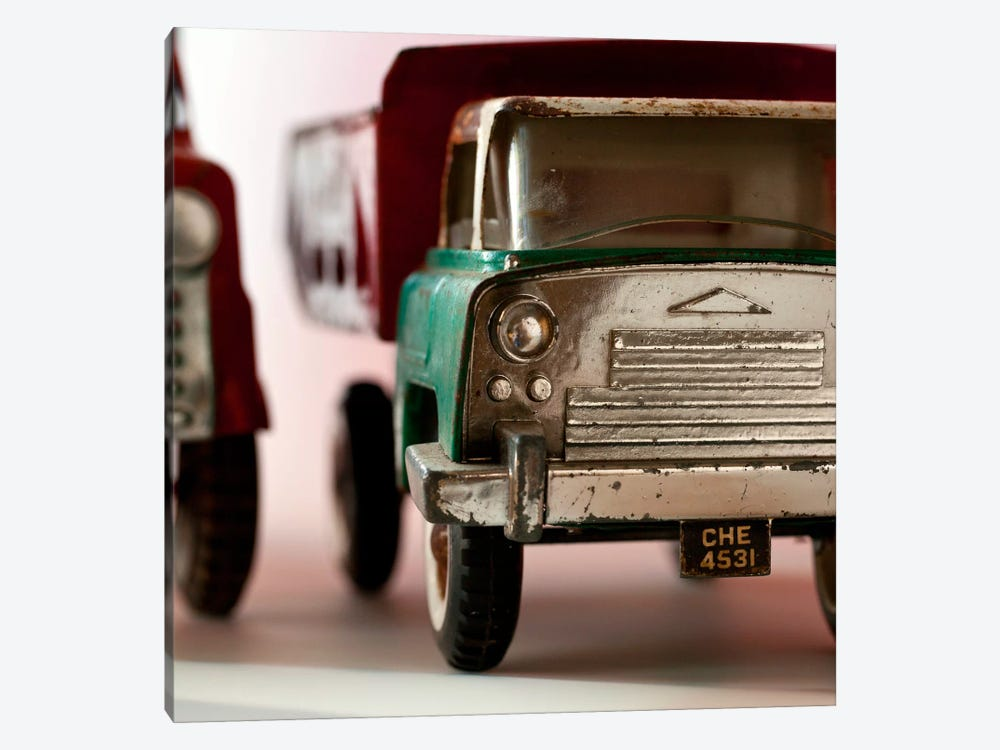 Green Truck by Symposium Design 1-piece Canvas Print