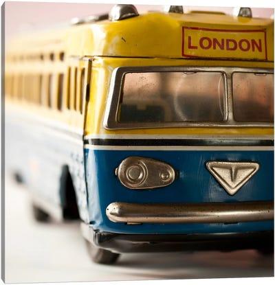 Yellow Bus Canvas Print #14167