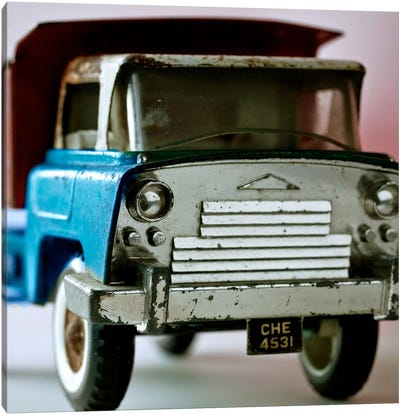 Blue Truck Canvas Print #14168
