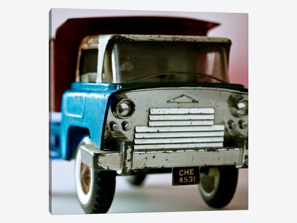 Blue Truck by Symposium Design 1-piece Art Print