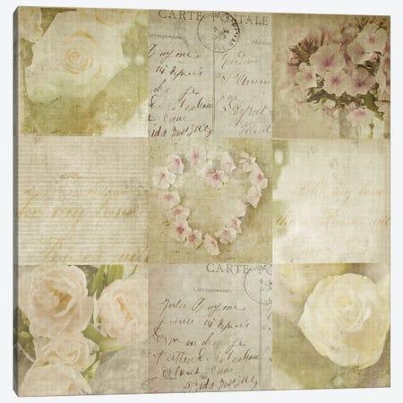 Vintage Photo Floral I Canvas Print #14169} by Symposium Design Canvas Wall Art