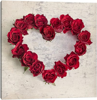Roseheart Canvas Art Print